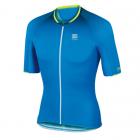 Cyklistický dres pánský Sportful R/D speed s. jersey modrý