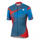 Cyklistický dres pánský Sportful Spark jersey modro šedo červený