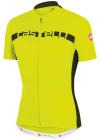 Cyklistický dres Casttelli 4515017 dres Prologo 4 - reflexní žlutá-šedá pánský