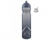 Cyklistická lahev R&B Zdravá láhev 1,0L šedá