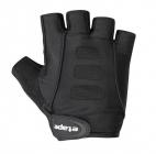 Cyklistické rukavice gelové Etape Esprit 1403210 pánské černé