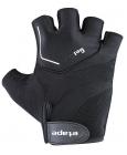 Cyklistické rukavice gelové Etape Supra 37-07 pánské černé
