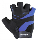 Cyklistické rukavice gelové Etape Supra 37-03 pánské černo modré