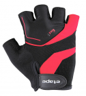 Cyklistické rukavice gelové Etape Supra 37-05 pánské černo červené
