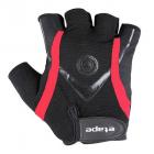 Cyklistické rukavice gelové Etape Winner 41-05 pánské černo červené