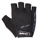 Cyklistické rukavice gelové Etape Tour 1603010 uni černé