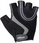 Cyklistické rukavice gelové Etape Esprit 32-10 černo šedé