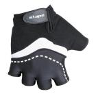 Dámské cyklistické rukavice gelové Etape Lucia 45-17 černé