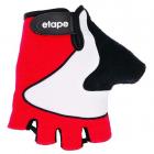 Dámské cyklistické rukavice gelové Etape Lady 45-50 červené