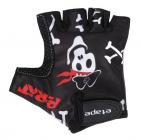 Dětské cyklistické rukavice Etape Tiny 44-10 pirát černá