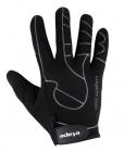 Cyklistické rukavice prstové gelové Etape Snake 111-10 černé pánské