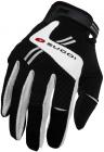 Cyklistické rukavice prstové gelové Sugoi Evolution 9156U uni černá bílá