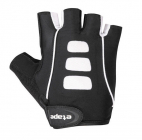 84da864154d Cyklistické rukavice gelové Etape Esprit 1403219 pánské černo bílé