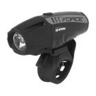 Přední světlo na kolo Force  Shark-1000 USB černé