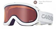 Lyžařské brýle Carrera SKERMO OTG bílé lesk filtr: Super Rosa Polar