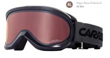 Lyžařské brýle Carrera SKERMO OTG černé lesk filtr: Super Rosa