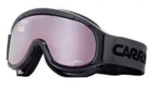 Lyžařské brýle Carrera MEDAL černé lesk filtr: Super Rosa