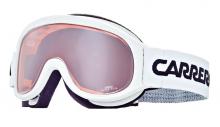 Lyžařské brýle Carrera MEDAL bílé lesk filtr: Super Rosa