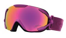 Lyžařské brýle Carrera DAHLIA SPH fialové dámské filtr: Yellow Spectra SPH