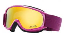 Lyžařské brýle Carrera ARTHEMIS fialové dámské filtr: Gold Multilayer