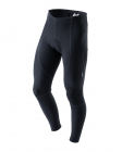 Kalhoty na kolo dlouhé do pasu Kalas LOP Čapáky Basic ROUBAIX černé + sedlo 3043-741