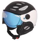 Lyžařská helma Mango Cusna VIP černá mat/bílá 2020/21