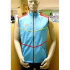 Vesta KV+ Davos vest royal/red/green