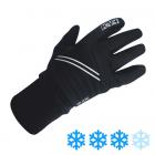 Běžecké dětské rukavice KV+ Gloves slide Junior black/white