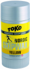 Vosk na lyže Toko Nordic Grip Wax Yellow 25 g