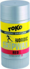 Vosk na lyže Toko Nordic Grip wax Red 25 g