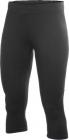 kalhoty Craft Active run Capri 3/4 dámské černé