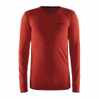 Termoprádlo 1. vrstva Craft triko Active comfort LS oranžové 1903716-B566