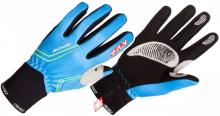 Běžecké rukavice KV+ RACE PRO WIND TECH 8G08.2 blue/red/green 2017/18