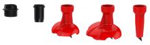 Košíčky na běžecké hole KV+ complete quick change set 8,5mm 2020/21