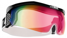 Štít Bliz Proflip XT black frame - pink with red multi lens