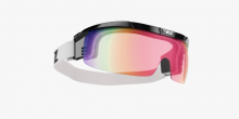Štít Bliz Proflip smallface black frame pink with red multi lens