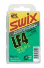 Vosk na lyže - parafín Swix LF4 od -10°C do -32°C zelený 60g