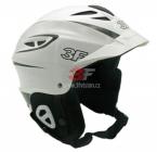 Lyžařská helma 3F Vision Bound 7103 - bílá 2018/19