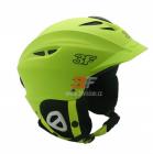 Lyžařská helma 3F Vision Bound 7107 - zelená 2018/19
