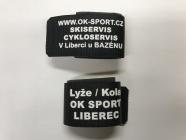 Pásky na sepnutí lyží OK SPORT suchý zip (1ks)