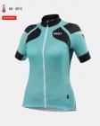 Cyklistický dres dámský Kalas Women Titan X8 tyrkys 1031-064