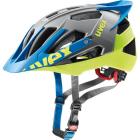 Cyklistická helma Uvex quatro pro, Anthrazit-lime 2018