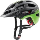 Cyklistická helma Uvex Finale, Black mat Green 2018