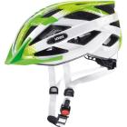 Cyklistická helma Uvex Air wing, lime white 2018