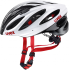 Cyklistická helma Uvex boss race white black 2017