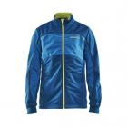 Dětská běžecká bunda Craft warm jkt jun. 1904634-2370 zelená (teal)