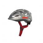 Dětská cyklistická helma Abus Smiley Peanuts, Flying grey