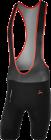 Cyklistické kalhoty krátké Silvini Fortore černo-červené MP1004-0820