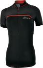 Cyklistický dres dámský Silvini Catirina, černo-červený WD1002-0820