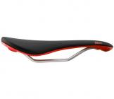 Sedlo na jízdní kolo Fabric scoop shallow elite černo - červené
